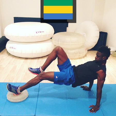 Eric Mouloungui préparation football