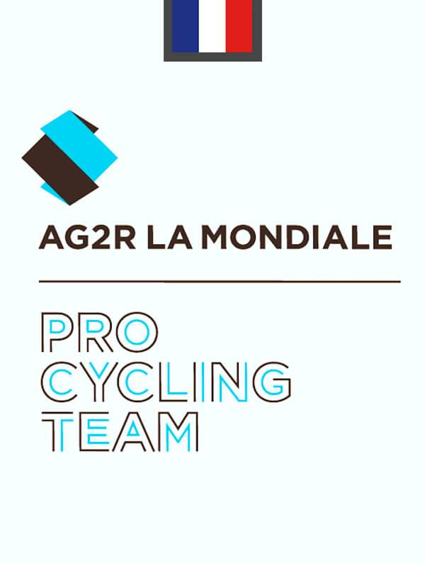 Logo AG2R Jean Baptiste Quiclet